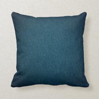 Denim look pillow