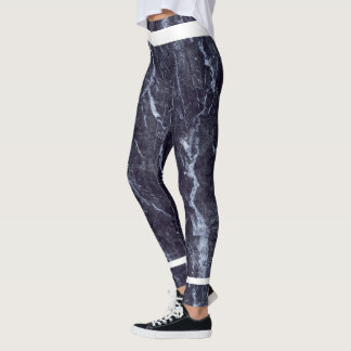 Denim Marble Leggings