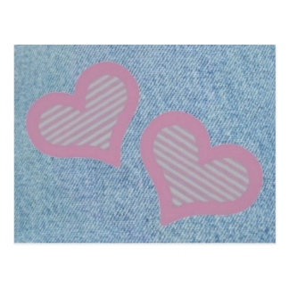 Denim-n-Hearts Postcard