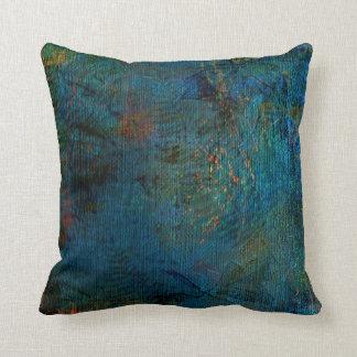 Denim pillow cushion