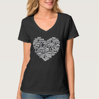 Denim style love T-Shirt