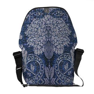 Denim Tapestry Bag Courier Bag