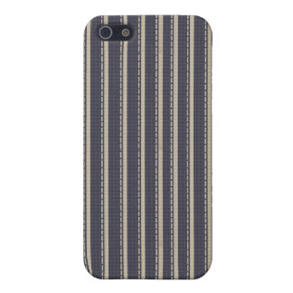 Denim Ticking Speck® Fitted™ Case for iPhone 4