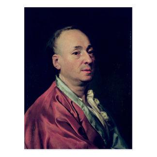 Denis Diderot  1828-29 Postcard
