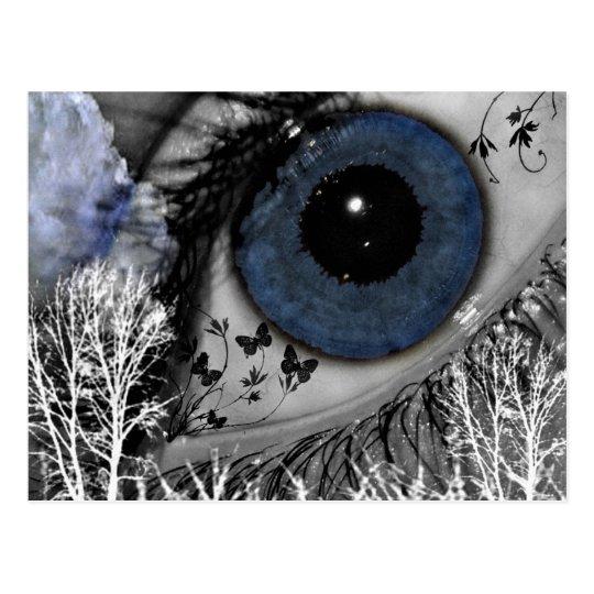 Denise Eye!@_Background Postcard