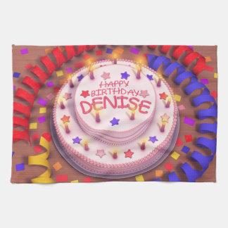 Denise s Birthday Cake Towels