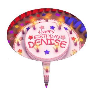 Denise's Birthday Cake Cake Picks