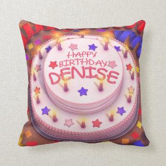 Denise's Birthday Cake Pillows