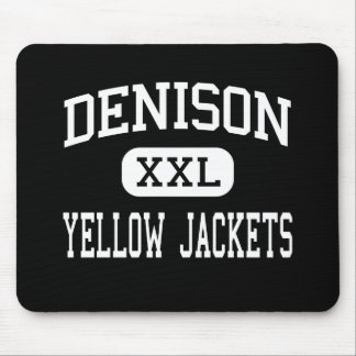 Denison - Yellow Jackets - High - Denison Texas Mouse Pad