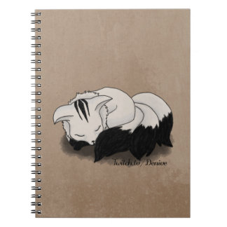 Denive - Fluffy Fox Notebook