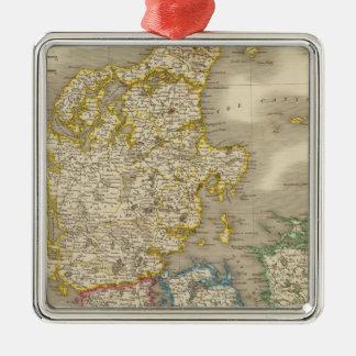Denmark 10 christmas ornament