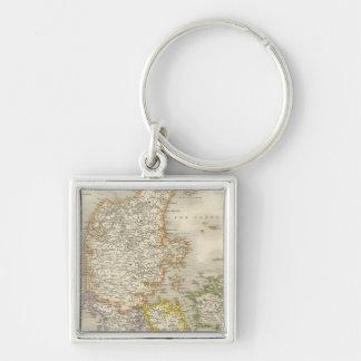 Denmark 12 key ring