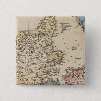 Denmark 15 Cm Square Badge