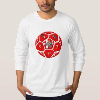Denmark 2014 world cup brazil brasil Dansk Tee Shirts