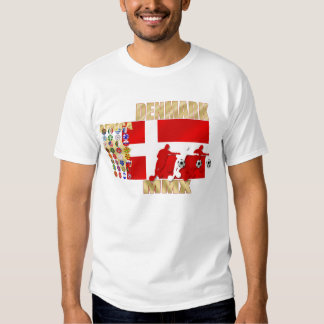 Denmark 32 country flag Africa 2010 gifts T Shirts