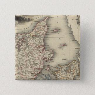 Denmark 4 15 cm square badge