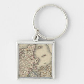 Denmark 4 key ring