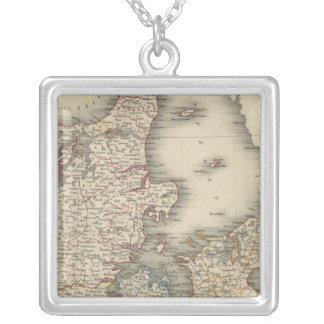 Denmark 4 silver plated necklace