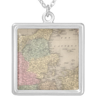 Denmark 5 silver plated necklace