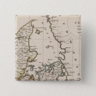Denmark 6 15 cm square badge