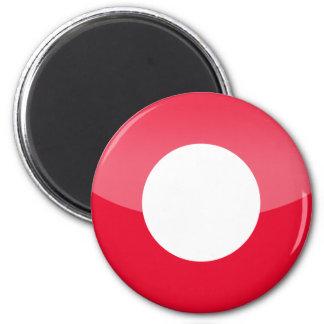 denmark 6 cm round magnet