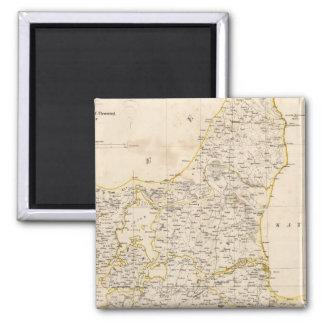 Denmark 6 square magnet