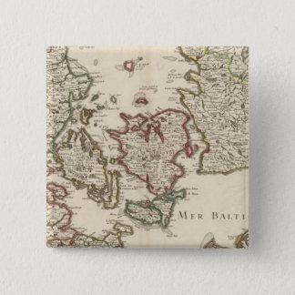Denmark 7 15 cm square badge