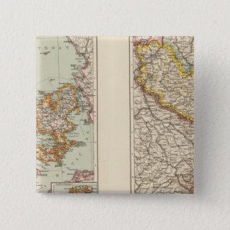 Denmark, Alsace Lorraine, Palatinate 15 Cm Square Badge