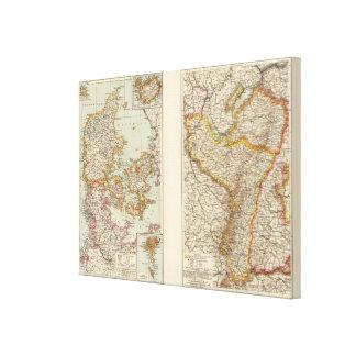 Denmark, Alsace Lorraine, Palatinate Canvas Print