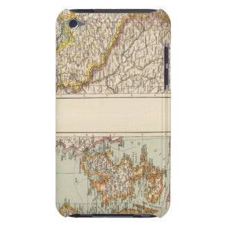 Denmark, Alsace Lorraine, Palatinate iPod Touch Case