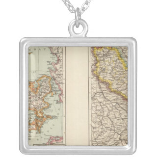 Denmark, Alsace Lorraine, Palatinate Silver Plated Necklace