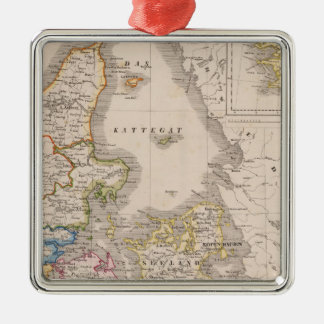 Denmark and Germany Christmas Ornament