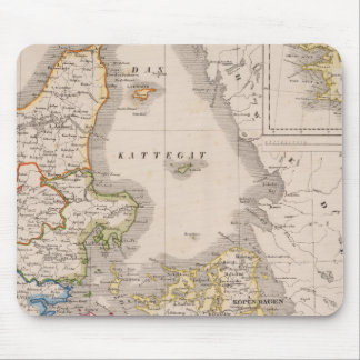Denmark and Germany Mouse Pad
