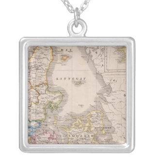 Denmark and Germany Silver Plated Necklace
