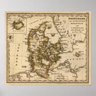 Denmark and Iceland 2 Poster