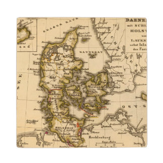 Denmark and Iceland 2 Wood Coaster