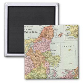 Denmark and Iceland Magnet