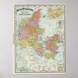 Denmark and Iceland Poster