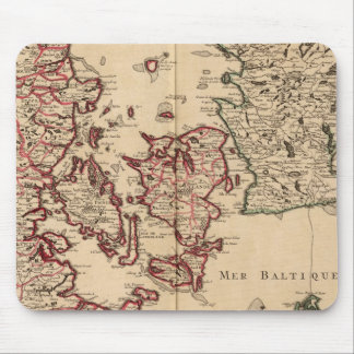 Denmark and Sweden Mouse Mat