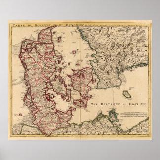 Denmark and Sweden Poster