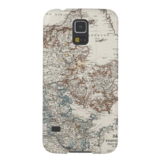 Denmark Atlas Map with 5 inset maps Galaxy S5 Cover