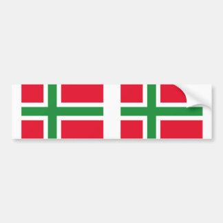 Denmark Bornholm, Denmark flag Bumper Sticker
