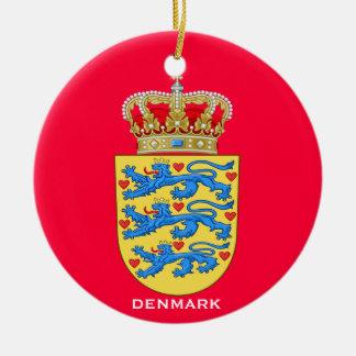 DENMARK*- Ceramic Round Ornament
