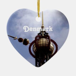 Denmark Christmas Ornament