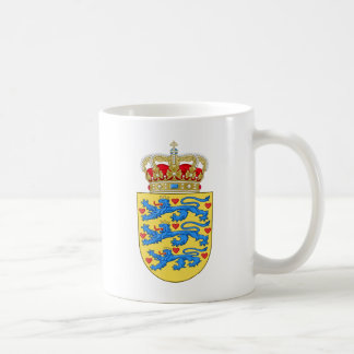 Denmark Coat of arms DK Coffee Mug