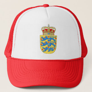 Denmark Coat of arms DK Trucker Hat
