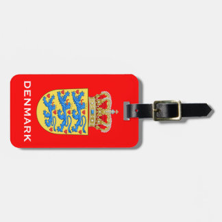 Denmark Coat of Arms Luggage Tage Luggage Tag