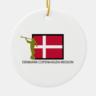 DENMARK COPENHAGEN MISSION LDS CTR CHRISTMAS ORNAMENT