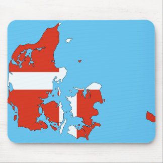 Denmark country mouse mat