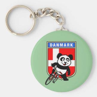 Denmark Cycling Panda Key Ring